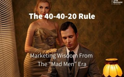 "The 40-40-20 Rule: Marketing Wisdom From The ""Mad Men"" Era"